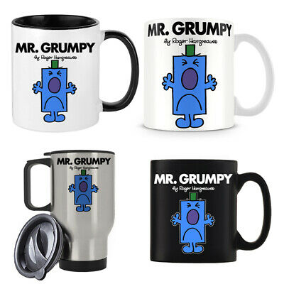 Mr Grumpy Themed 11oz/15oz/14oz Coffee Mug Christmas/Birthday Gift. • 10.99£