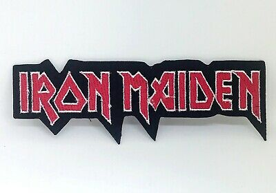 IRON MAIDEN Rock Punk Music Band Logo Iron On Sew On Embroidered Patch #578 • 1.99£