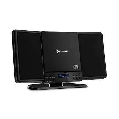 Micro Hi Fi System Vertical Stereo Chain CD FM And DAB + Tuner Bluetooth Black • 59.99£