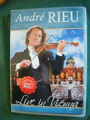Andre Rieu - Live In Vienna (DVD, 2010) With BOOKLET - VG • 2.49£