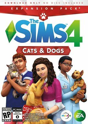 AU32.99 • Buy The Sims 4 - Cats & Dogs - Expansion Pack - PC EA Origin Download Code - Global