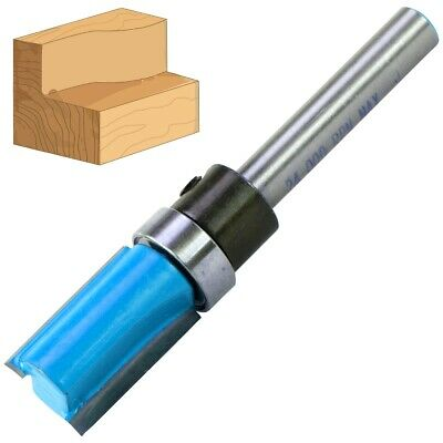 £5.95 • Buy 1/4  Steel Shank TEMPLATE ROUTER BIT 1/2  X 3/4  Imperial Woodwork Cutter TCT