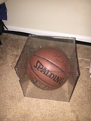 CHARLES BARKLEY Signed NBA Basketball With Display Case • 64.99$
