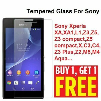 AU4.08 • Buy 2X Tempered Glass Film Screen Protector  For Sony Experia Xperia 5 L4 XA GORILLA