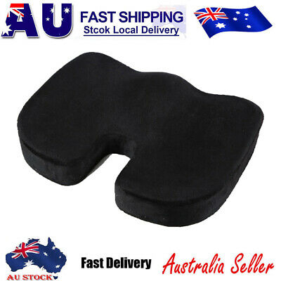AU20.59 • Buy Memory Foam Seat Cushion Coccyx Support Orthopedic Office Home Chair Pads