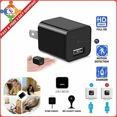 $28.62 • Buy Spy Camera For Women Small Secret Tiny Best Real Motion Detection Home Security