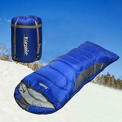 $59.99 • Buy Sleeping Bag Cold Weather Zero 0 Degree Adult Backpacking Military Camping Tall