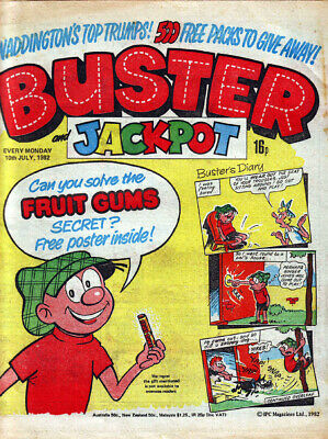 Comic Buster And Jackpot 10th July 1982 • 3.75£