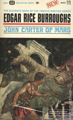 John Carter Of Mars (Acceptable) Barsoom Ballantine U2041 Edgar Rice Burroughs • 2$