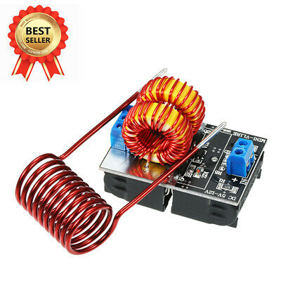 AU18.69 • Buy AU 5V-12V Low Voltage ZVS Induction Heating Power Supply Module +Heater Coil