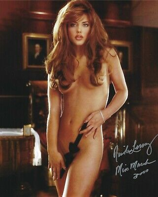 $ CDN43.73 • Buy Nicole Lenz 03/2000 Playboy Playmate Sexy Signed Photo  (in3)