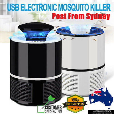 AU14.99 • Buy USB Mosquito Insect Killer Electric Lamp LED Light Fly Bug Zapper Trap Catcher