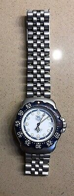 Tag Heuer 200 Meters WA1219 Professional Watch Mens /womens  BLUE New Battery • 152.50$