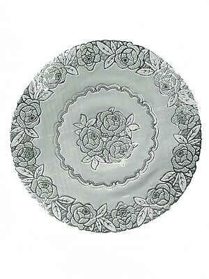Silver Round Lace Effect Table Place Mats Home Christmas Weddings Table Decor • 2.89£