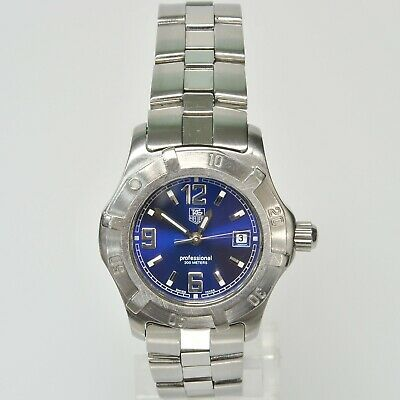 TAG Heuer Swiss Ladies Professional 200 Meters Sport Watch ALL SS WN1312-0  • 199.99$