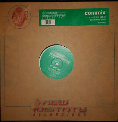 Commix Something Better / All You Need 12  Vinyl New Identity Recs 2003 D&b Vg++ • 4.99£