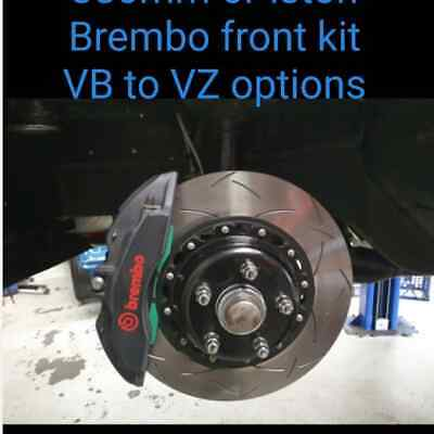 AU3395 • Buy Commodore Big Brake Kit Vh Vk Vl Vn Brembo 6 Piston 380mm Dba T3 5000