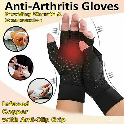 $12.99 • Buy NEW Arthritis Gloves For Women And Men.Carpal Tunnel,Computer Typing Wrist Brace