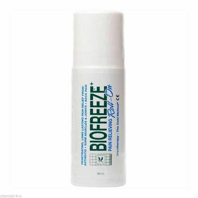 Biofreeze Roll-On Pain Relief Sore Muscle Arthritis Sore Joint Gel 89ml • 9.99£