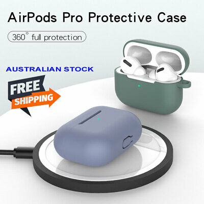AU14.50 • Buy Apple Airpods PRO 2019 Case Silicone Cover Slim Skin With Hook AU Stock