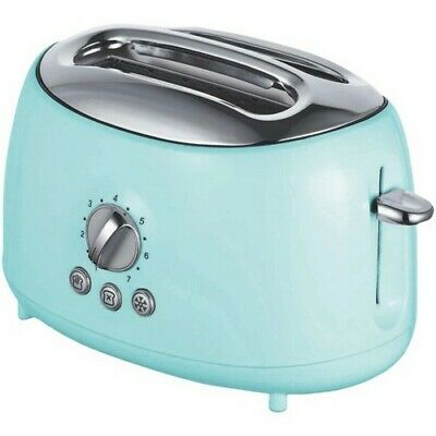 $30.97 • Buy Brentwood TS-270BL Cool Touch 2 Slice Blue Retro Toaster
