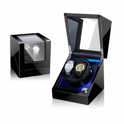 $ CDN97.15 • Buy Automatic Rotation LED Watch Winder For 2pcs Of Watches