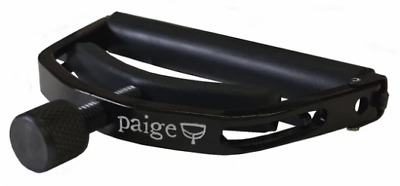 $ CDN30.37 • Buy PAIGE Original 12-String Acoustic Guitar Capo Standard Profile - Black, P-12E