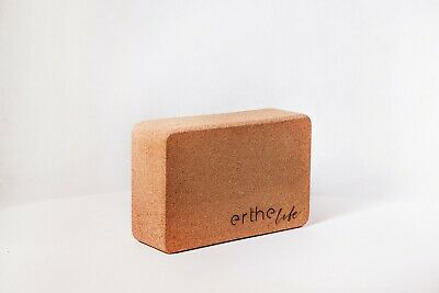 AU35 • Buy Erthe Life - Cork Yoga Block (Sustainable, All Natural, Eco Friendly) Fitness
