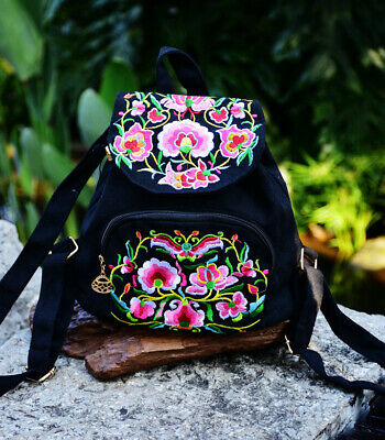 Creative Gift China Yunnan Canvas Embroidery Bag Stylish Featured Shoulders Bag • 20.39£