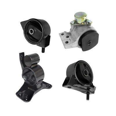 $83.43 • Buy Transmission Mounts Front Right Rear 4PCS Set 1.8 2.0 L For 1997 - 2001 Tiburon