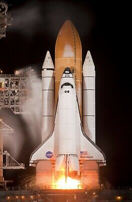 Endeavour Space Shuttle NASA Astronomy Rocket HD POSTER    • 10.85£