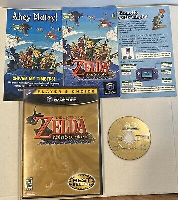 $42.99 • Buy The Legend Of Zelda: Wind Waker (GameCube, 2003) Complete W/ Manual & Inserts