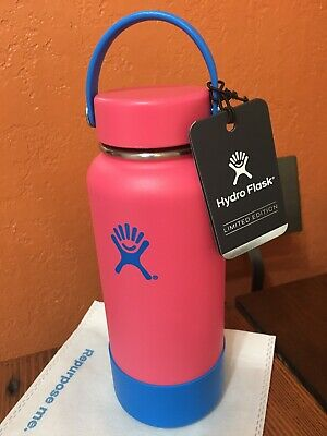 $74.99 • Buy Hydro Flask 32 Oz Wide Mouth Bottle - Movement Limited Edition - Fuchsia