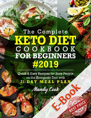 $2 • Buy The Complete Keto Diet Cookbook For Beginners 2019: Quick & Easy Recipes - P.D.F