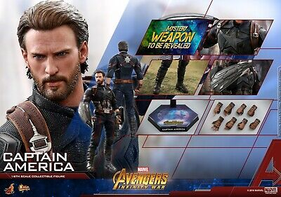 $ CDN351.30 • Buy Hot Toys Avengers Infinity War 1/6th Scale Captain America Figure MMS480 INSTOCK