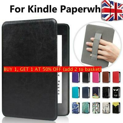 Magnetic Case Leather Handle Cover For Amazon Kindle Paperwhite 1/2/3/4 2018 • 8.27£