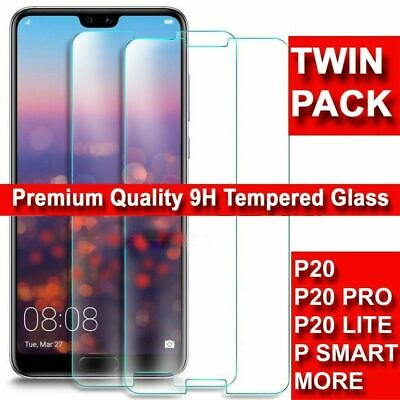 For Huawei P Smart 2019 P20 Pro P30 Lite Premium-tempered Glass Screen Protector • 2.29£