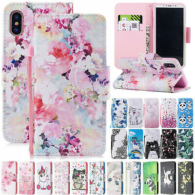 AU13.95 • Buy For IPhone 11 Pro Max 6 7 8 Plus XR XS Wallet Leather Stand Flip Card Case Cover