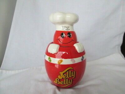 £9.20 • Buy JELLY BELLY Mr Jelly Bean Gourmet Jelly Bean Lidded Jar 2006 Collectible