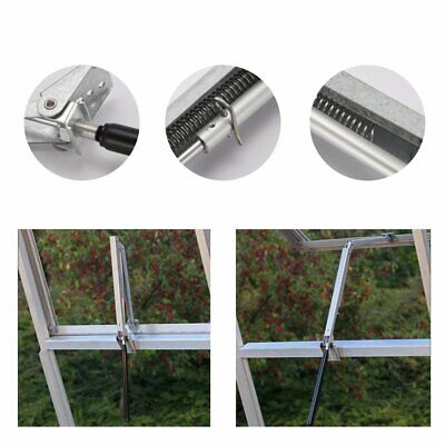 Window Vent Opener 7kg Greenhouse Solar Powered Automatic Opener Garden Tools • 16.99£