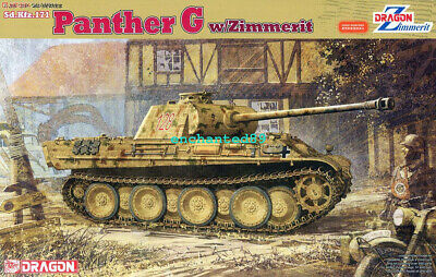 Dragon 6384 1/35 Scale Sd.Kfz.171 Panther Ausf.G W/Zimmerit Model Kit • 46.99£