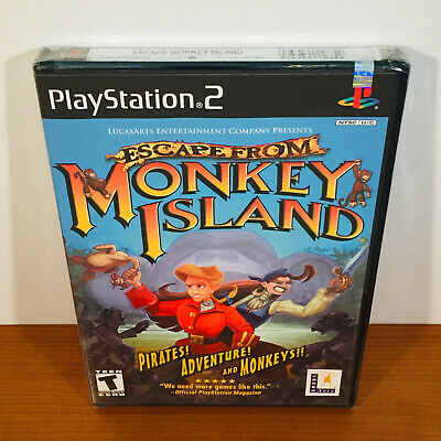 £124.08 • Buy Escape From Monkey Island (PS2) Rare! New Sealed. Near-Mint!