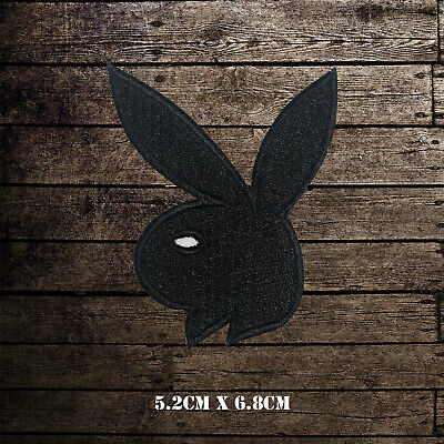 Playboy Bunny Logo Embroidered Iron On Sew On Patch Badge For Clothes Etc • 1.99£