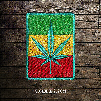 BOB Marley Rasta Flag Embroidered Iron On Sew On Patch Badge For Clothes Etc  • 2.09£