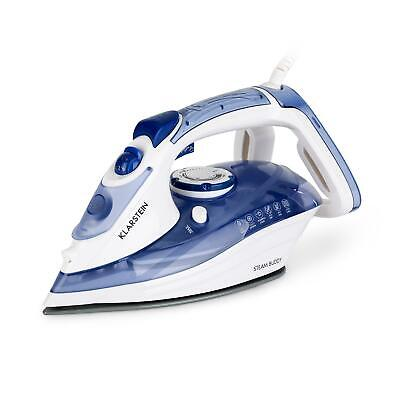 View Details Ironing Machine Iron Shirt Steam Automatic LED Timer 3000 W 320 Ml - Blue • 29.95£