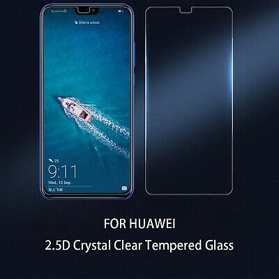 For Huawei P9 10 P Smart 2019 P20 Pro Lite 2.5D Tempered Glass Screen Protector • 1.99£
