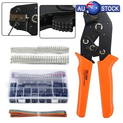 AU49.17 • Buy Dupont Crimping Tool SN-28B Crimper Kit Set Connectors Raspberry PI Arduino