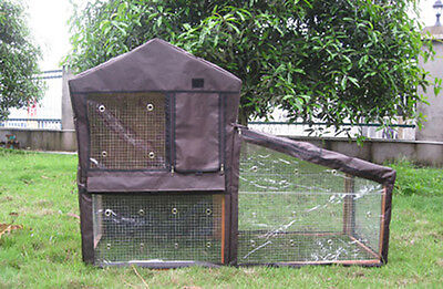 £124.99 • Buy Bunny Business Hutch Cover To Fit The Bf1 Double Decker Hutch And Run