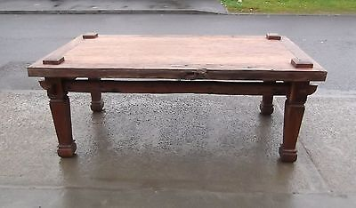 £1795 • Buy Antique Hand Made Indonesian Weaving Kitchen / Dining Table   Delivery Available