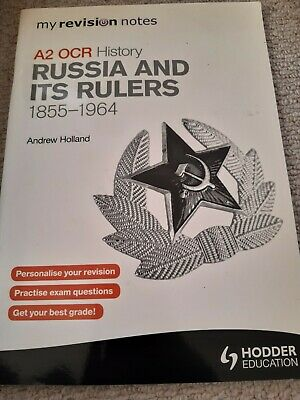 My Revision Notes: OCR A-level History: Russia And Its Rulers 1855-1964 By Andr… • 3.50£